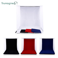 40x40x40CM Portable Folding Softbox Photography Studio Mini Soft Box With Photo Background For IPhone Samsang HTC