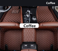 Auto Floor Mats For Hyundai Elantra 2012 2015 Foot Carpets Step Mat High Quality Embroidery Leather