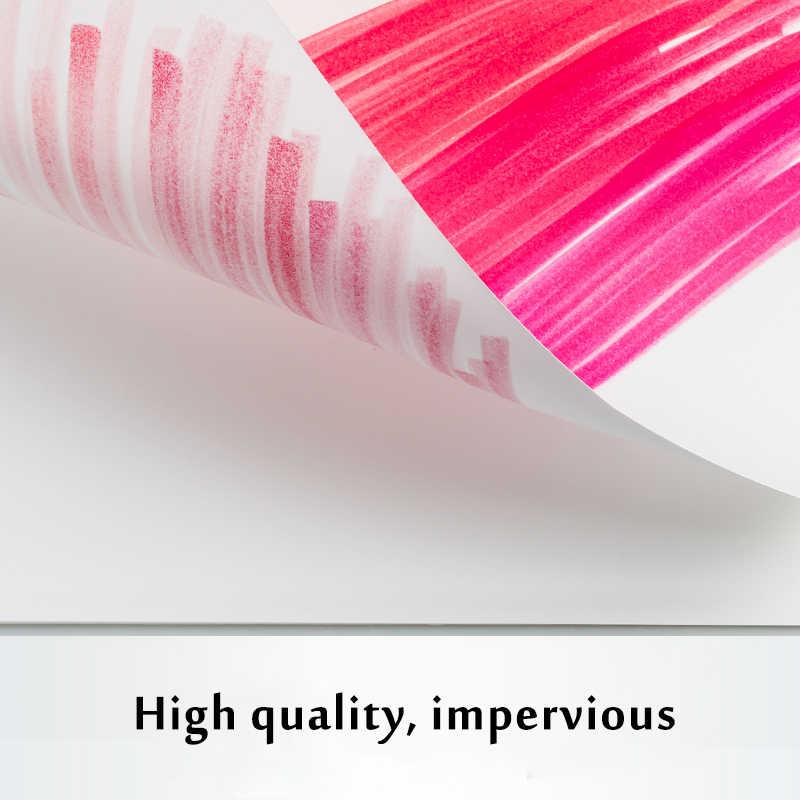 A4 25 feuilles marqueur marqueur marqueur croquis livre papier dessin papier pour amateur de peinture étudiant coloriage Design papeterie