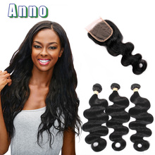 2016 Lace Frontal Closure Human Hair Weave Stema King Hair Peruvian Body Wave With Closure Grade 7a With 4 Bundles Virgin With