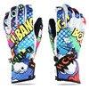 New Cartoon Thicken Warm Ski Gloves For Motorcycle Waterproof Snowboard Gloves Unisex Women Men S Snow
