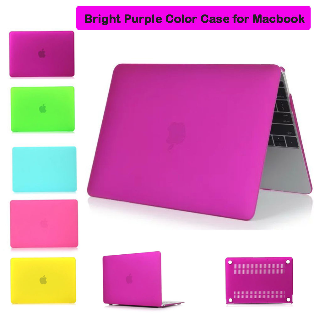 Rubberized Matte Shell Case for Macbook Air Pro 13.3inch Pro Retina Laptop Case Cover For MAacbook Air Pro 13.3