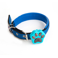 Wireless Rechargeable Mini Pet Tracker Pet Collar Real Time Locator Kid Cat Dog Waterproof GPS Tracking
