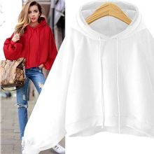 S-5XL Autumn Pius Size Eight Colors Hoodies Women Casual Loose Hooded Tops Female Fashion Pullover Streetwear Womens Sweatshirt