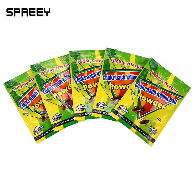 Insecticide Bait Roach Miraculous Powder 5pcs Outdoor Kill Ant Pest Kitchen