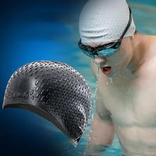 Водонепроницаемые противоскользящие женские длинные волосы с ушами, защитная шапочка для плавания для мужчин и женщин, длинные волосы, шапочка для плавания с ушками, для бассейна, 5,20