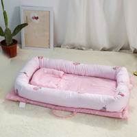 Baby Crib Portable Baby Bed Children's Cotton Cradle Portable Cribs Foldable Children's Beds Nest For Newborns Infant Cradle