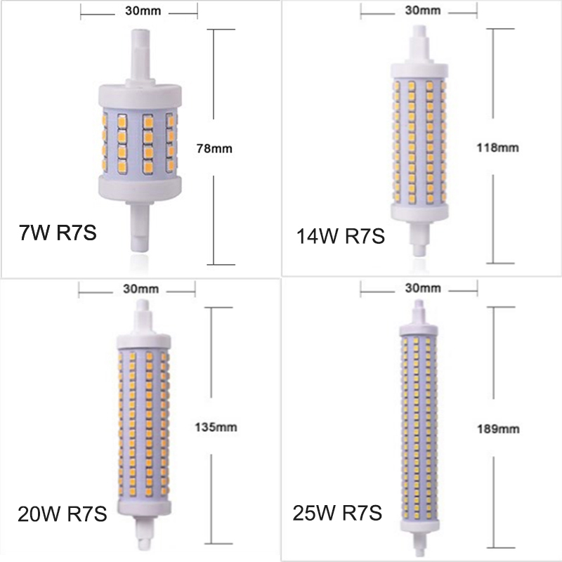 Popular r7s led 118mm buy cheap r7s led 118mm lots from for R7s led 118mm 20w