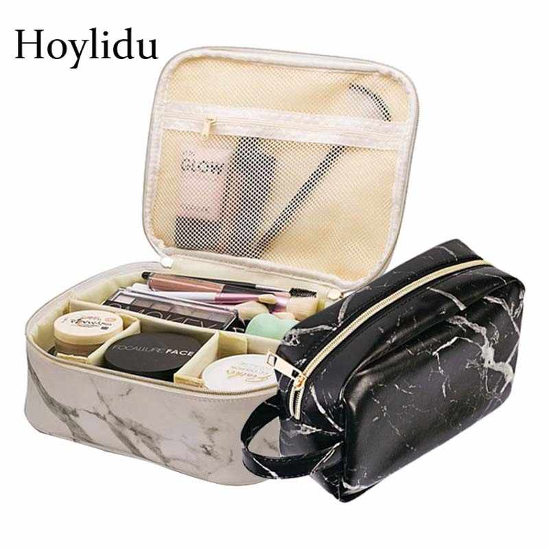 20301b4e7950 Detail Feedback Questions about Fashion Marble Cosmetic Bag Women ...