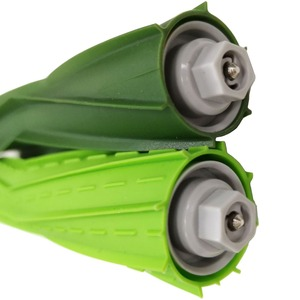 Image 2 - 4 adet Fırça Rulo iRobot Roomba i7 i7 + E5 E6 I Serisi robotlu süpürge Parçaları Yedek Rulo Fırçalar Aksesuarları kiti