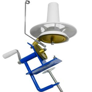 Image 5 - Enrouleur de Machine denroulement de fer de boule de fil de laine rotatif actionné à la main dans la taille de boîte enrouleur de boule de fil actionné à la main