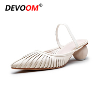 New Fashion White High Heels Scarpe Eleganti Donna Women Comfy Platform Sandal Shoes Women's Sandals Summer Jelly Shoes Woman 34