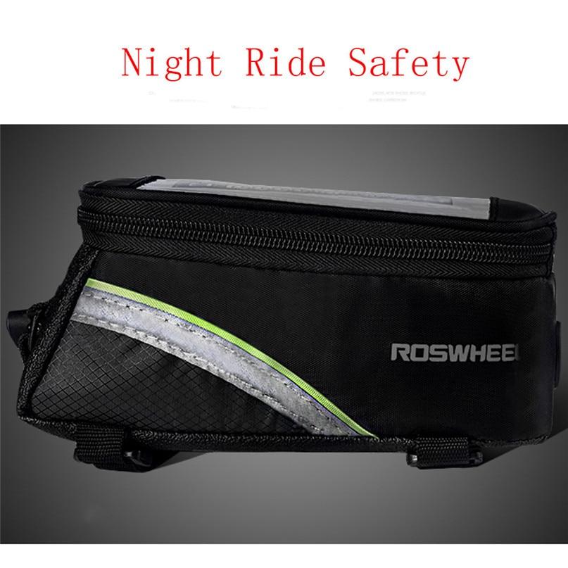 Bicycle Bag Waterproof MTB Bike Front Top Frame Handlebar Bag Bike Accessories For 5.5 Cellphone wholesale #2a09 (6)