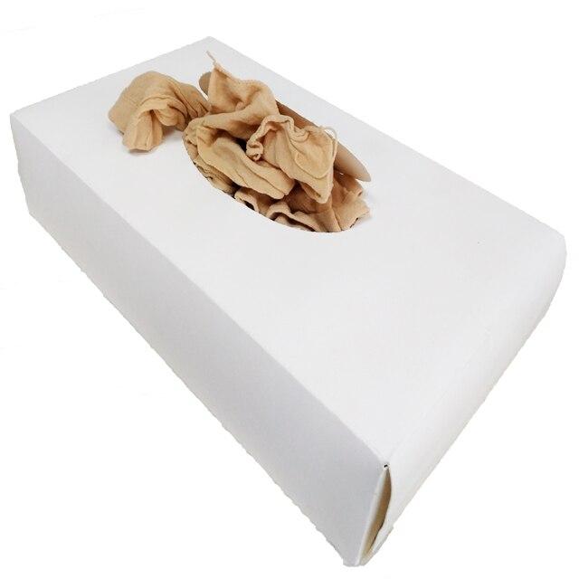 144 pièces par boîte essayer sur chaussettes chaussettes jetables pour chaussures proshop