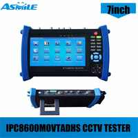 7inch CCTV IP Camera Tester Touch Screen Monitor Onvif AHD/TVI/CVI HDMI 1080P/PTZ/POE/WIFI/FTP Server/IP Scan Tester