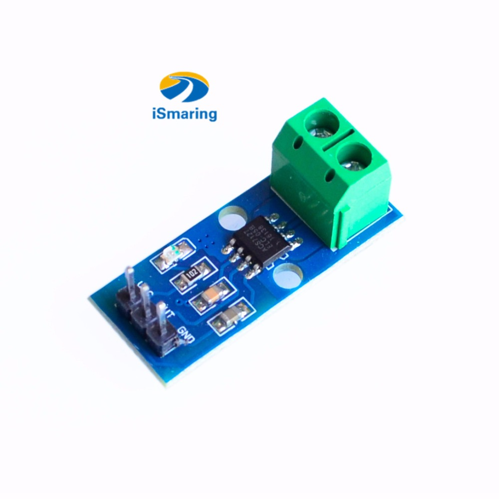 5pcs New Acs712 5a 20a 30a Range Hall Current Sensor Module How To Build A Circuit Diy Rc Toy Kit Electroincs Develop Learing Pa In Parts Accessories From Toys