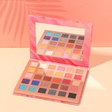 FOCALLURE Glitter PowderEyeshadow Palette High Quality Brand Smooth Matte Powdery Shades For Daily Party Makeup Pallet