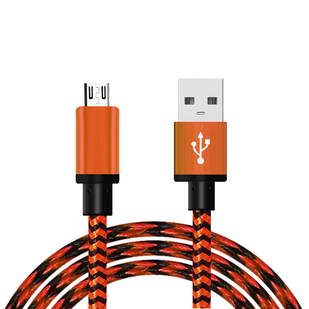 Hot Sale 2A Universal Transmisi Data MICRO USB Charger Kabel untuk Xiaomi untuk Huawei 5 Warna