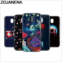 ФОТО zojanena space astronaut back cover for samsung galaxy j530 eu j5 2018 phone case soft silicon cases for samsung j5 pro j5pro