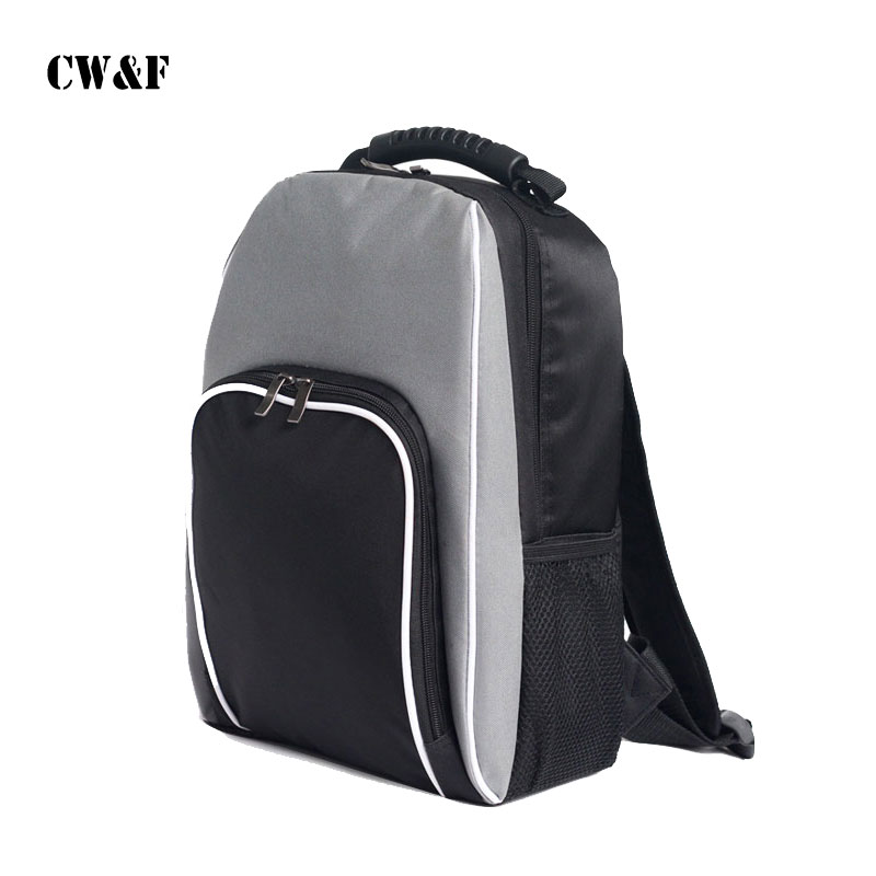 2018 30L Size 33x20x45CM Thermal Bag Cooler Bag Thickening Double Beach Shoulder Lunch Backpack Refrigerator Bag-in Lunch Bags from Luggage & Bags    1