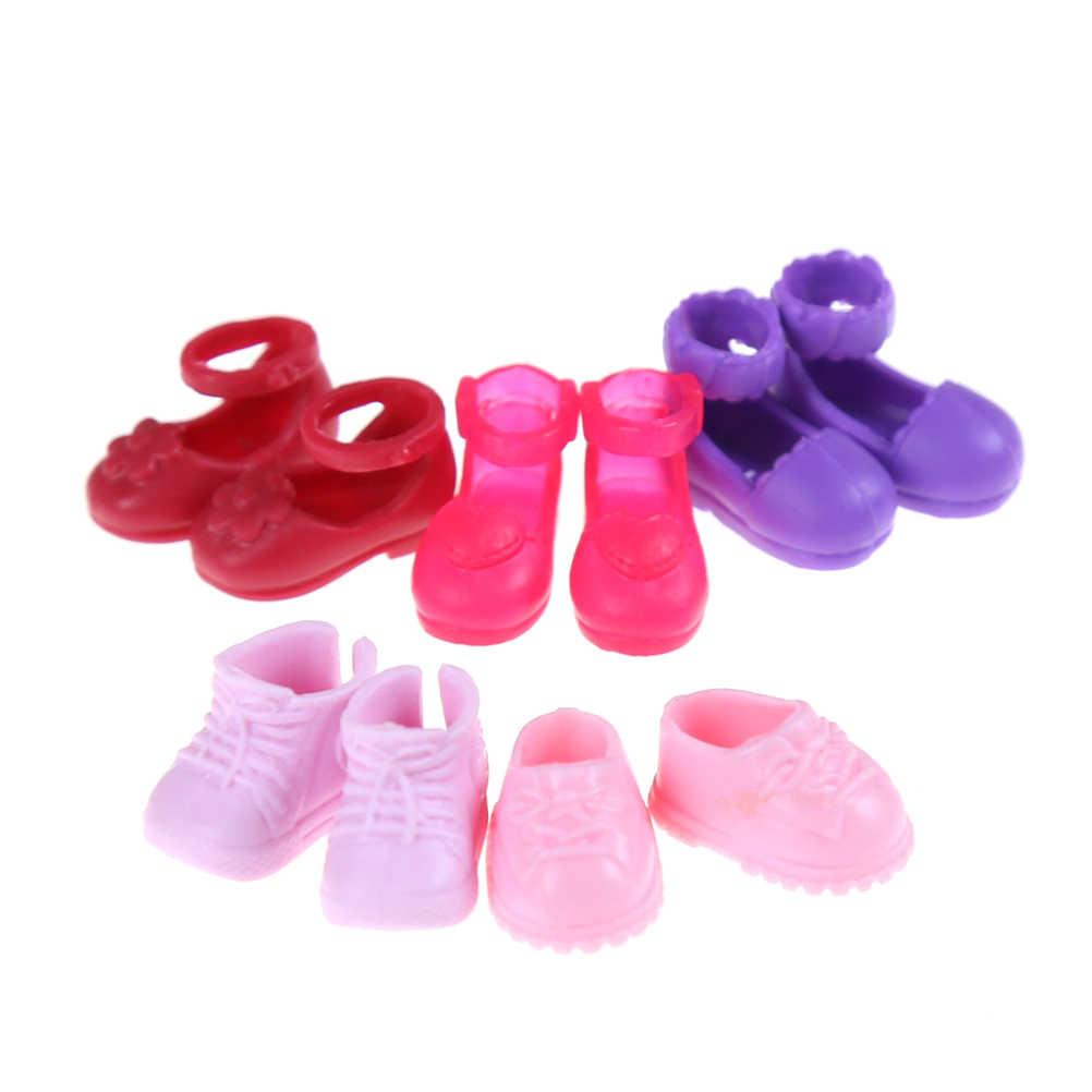 Giày Thời Trang Giày Búp Bê Cho Búp Bê Bộ Trang Phục Đầm Bé Gái Tặng Cho Cô Bé Ngẫu Nhiên Tốt Nhất Bán