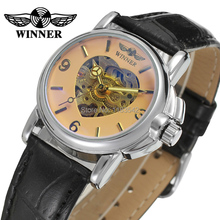 Winner Watch Newest Design Watches Lady Top Quality Watch Factory Shop Free Shipping WRL8011M3S5