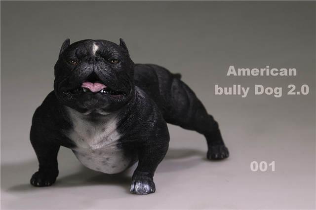 Online Shop American Bully Dog 16 Scale Whitesandbrownblack