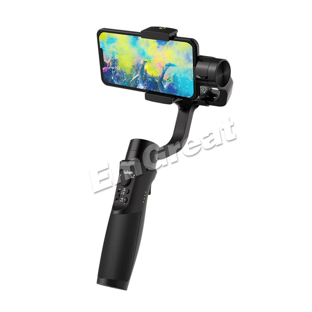 Hohem iSteady Mobile + Plus 3 Axes Poche Smartphone Stabilisateur de Cardan pour iPhone XS Max XR X 8plus 8 7 Android Huawei Samsung-in Cardan à tenir à la main from Electronique    3