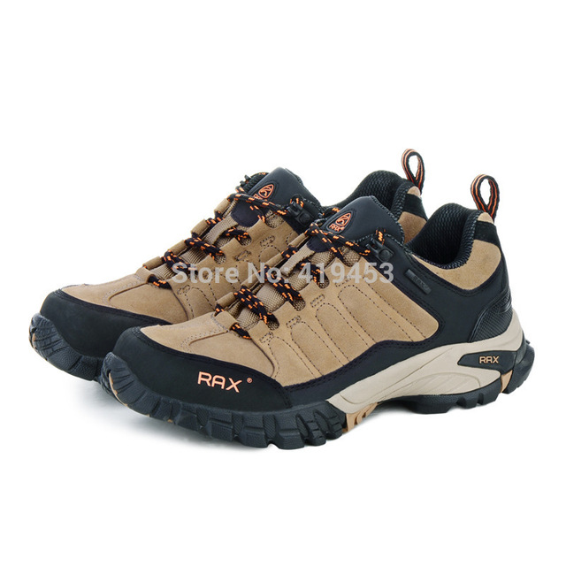 Rax Men Casual Shoes High Quality Men Genuine Leather Shoes Waterproof Outdoor Walking Shoes 5 Colors A558