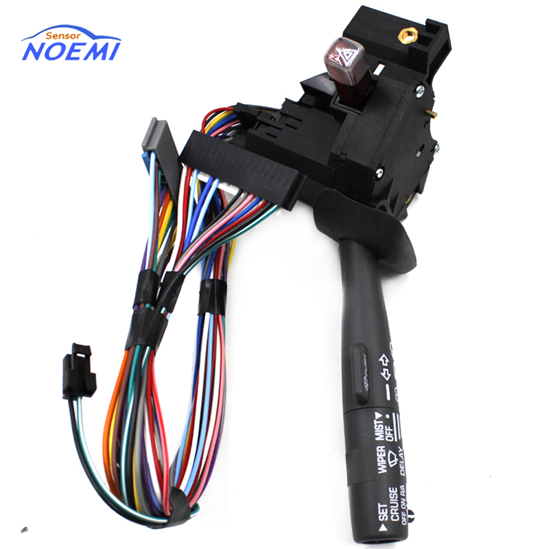 YAOPEI High quickly 26100985 Windshield Wiper Arm Turn Signal Switch w/ Cruise Control Fit For Chevy GMC