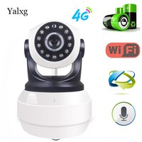 Yalxg HD 1080P PTZ Wireless 3G/4G GSM SIM Card CCTV Camera 2.0MP IP Wi Fi Camera Built in Battery P2P Network Video Baby Monitor