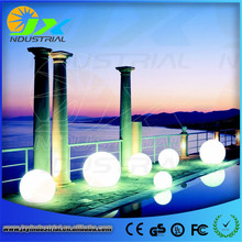 hot deal buy led decoration sphere ball to outdoor as furniture waterproof remote control 30cm
