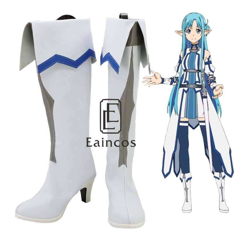 Anime Sword Art Online Yūki Asuna Vaporeon Cosplay Costume Fall Set