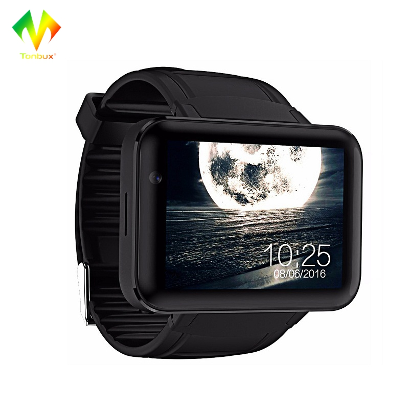 [Official]DM98 Smart Watch 2.2 Inch Android OS Color Screen Bluetooth Dual Core 1.2GHz 4GB ROM Camera WCDMA GPS Smartwatch eastvita dm98 smart watch 2 2 inch hd screen 512mb ram 4gb rom dual core android 4 4 os 3g camera wcdma gps wifi smartwatch r30