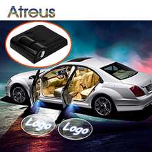 Atreus NEW Car Door Welcome Light LED Logo Laser Projector For Honda civic 2006-2011 fit Lada granta vesta Saab Ford Peugeot 307