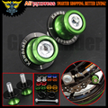 10mm Motorcycle Green Swingarm Sliders Spools For Kawasaki ZX-12R 2000-2007,ZX-14 ZX14R (ABS) (ZZR1400) 2006-2014 Z1000 2003-13
