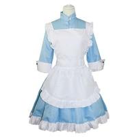 Brdwn Kagerou Project MekakuCity Actors womens Kozakura Mari Cosplay Costume Lolita Apron Dress