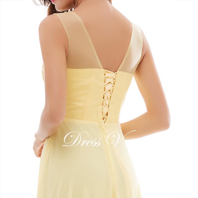 платье нарцисс аппликация длинное вечернее платье 2017 дешевые линии рукавов узелок шифон формальные пром платье вечернее платье