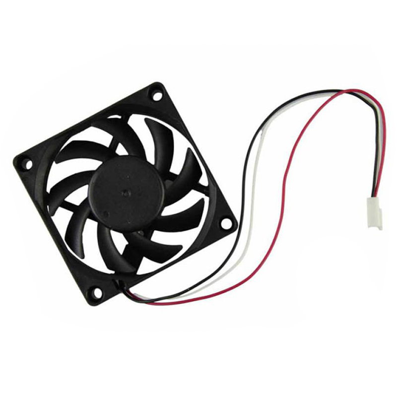 Computer Case Cooler 12V 7CM 70MM PC CPU Cooling Cooler Fan free delivery 9025 9 cm 12 v 0 7 a computer cpu fan da09025t12u chassis big wind pwm four needle