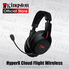 Kingston hyperx nuvem vôo sem fio gaming headset fones de ouvido multifunções para pc ps4 xbox móvel