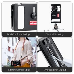 Image 3 - Ulanzi u rig metal handheld smartphone equipamento de vídeo vlog configuração alça aperto estabilizador com lente do telefone para iphone huawei videomakers