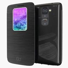 Offers Auto SleepWake For LG Optimus G2 D802 D805 D801 D800 D803 LS980 Luxury Smart Quick Circle View Window Flip Case Shell Bag
