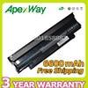 Apexway 6600mAh laptop battery for Dell Inspiron 13R 14R 15R M501 M5010 N3010 N4010 N5010 N7010 Series 04YRJH 06P6PN 07XFJJ