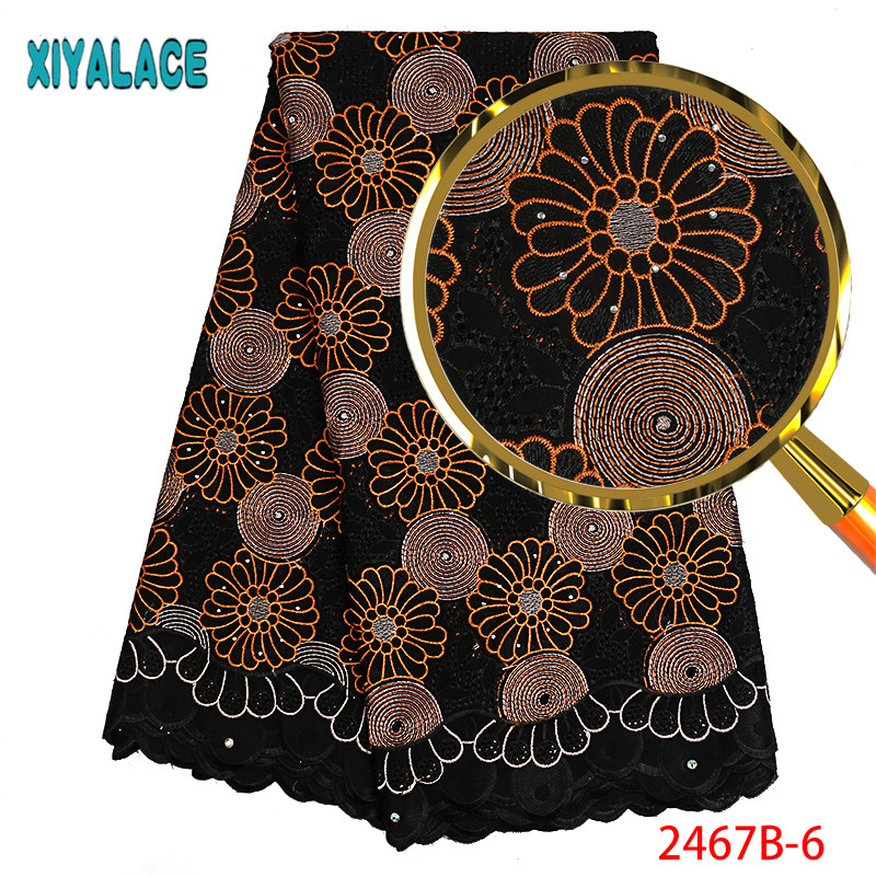 Swiss Voile Lace In Switzerland High Quality Embroidery Design Dry Cotton Lace Fabric 2019 African Swiss Lace For Man PGC2462B-1