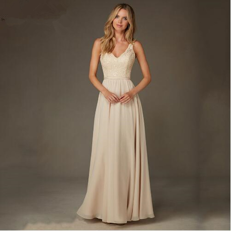 Online Buy Wholesale champagne gold bridesmaid dresses from China ...