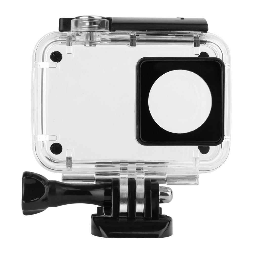 SHOOT 40M Diving Waterproof Case for Xiaomi Yi 4K Lite Xiaoyi 2 Action Camera Protective Housing Case For Yi 4K Accessories цены