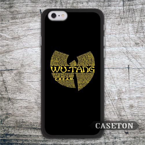 Wu Tang Clan Hip Hop Case For iPhone 7 6 6s Plus 5 5s SE 5c and For iPod 5 High Quality Classic Rap Band Phone Cover