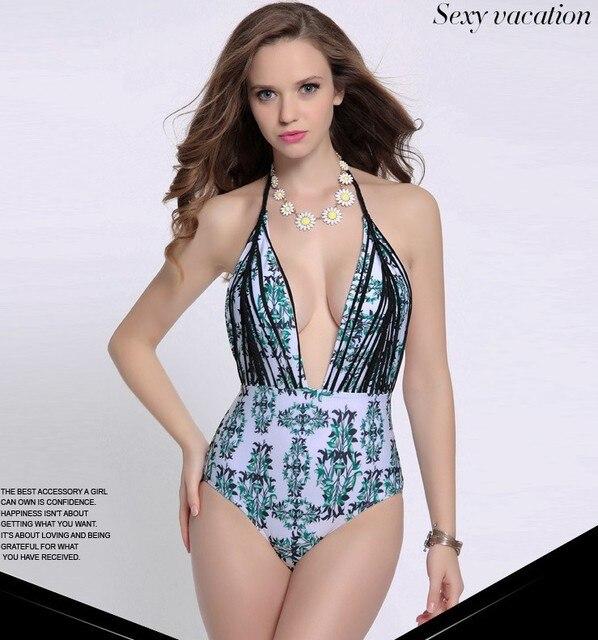 03e4ddf6c7f32 New Sexy one pieces swimsuit swimwear 2016 venus biquini push up Brazillian Bathing  Suit maillot de bain 10 tankinis monokini