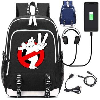 Рюкзак Охотники за привидениями USB зарядка в подарок