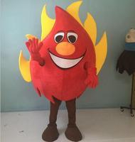 אדום אש תלבושות קמע למבוגרים ללבוש